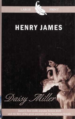Cover of: Daisy Miller | Henry James Jr.